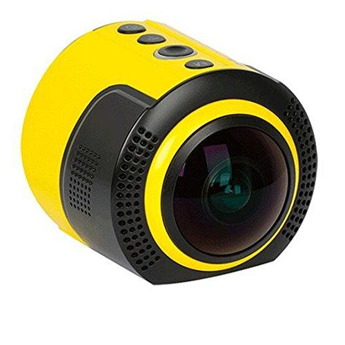 DETU OEM Wireless 360 Degree Panoramic Sports Action Camera (8 MP and 1080p HD)