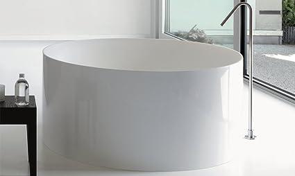 Vasca Da Bagno Tonda : Vasca da bagno colacril dual tonda amazon fai da te