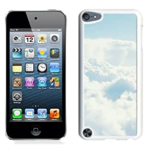New Beautiful Custom Designed Cover Case For iPod 5 With Thick Clouds In The Air (2) Phone Case