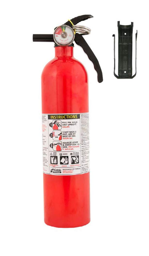 Kidde FA110 Multi Purpose Fire Extinguisher 1A10BC, 1 Pack by Kidde