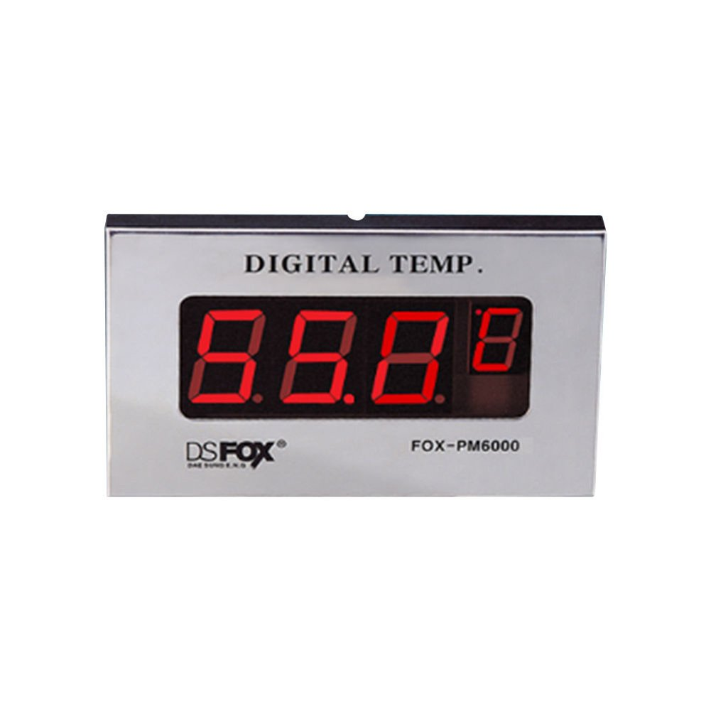 CONOTECOEM Digital Temperature Indicator FOX-PM6000 Sauna Clock