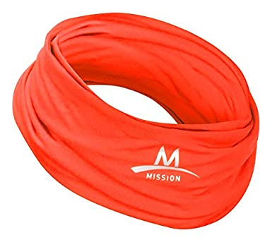 Mission Multi-Cool 12 in 1 Multifunctional Gaiter and Headwear Mission Athlete Care 108009