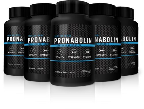 Pronabolin Natural Testosterone Booster, 5-Bottle Maximum Boost Pack by Pronabolin