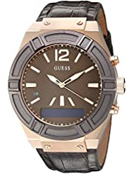 GUESS Men's Stainless Steel Connect Smart Watch - Amazon Alexa, iOS and Android Compatible iOS and Android Compatible...