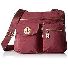 Baggallini ICB872G-SC Sydney Crossbody Bag, Scarlet, One Size
