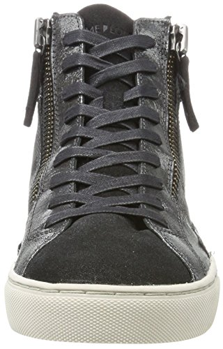 Crime London Women's 25326a17b Hi-Top Trainers Silver (Silber Schwarz) gzj1E