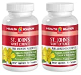 Product review for antioxidant health - ST. JOHN'S WORT EXTRACT - PROMOTES POSITIVE MOOD - immune support adults - 2 Bottles (120 Capsules)
