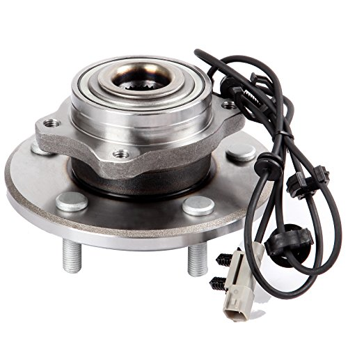 ECCPP Replacement for Wheel Bearing and Hub Assembly for Chrysler Pacifica 2004-2006 Professional Grade Wheel Hubs 5 Lugs W/ABS 512288