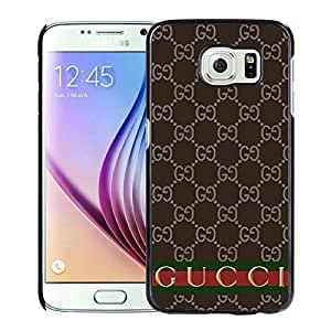 Fahionable Custom Designed Samsung Galaxy S6 Cover Case With Gucci 35 Black Phone Case