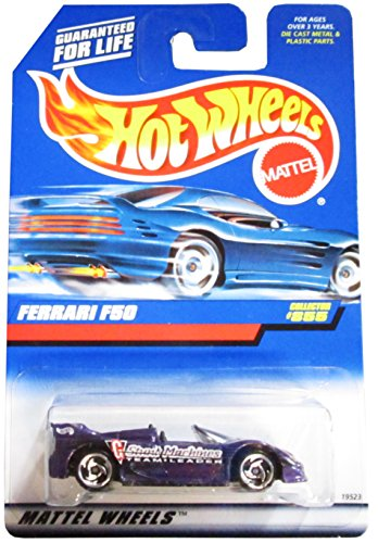 Mattel Hot Wheels 1998 1:64 Scale Purple Ferrari F50 Die Cast Car Collector - Ferrari Purple