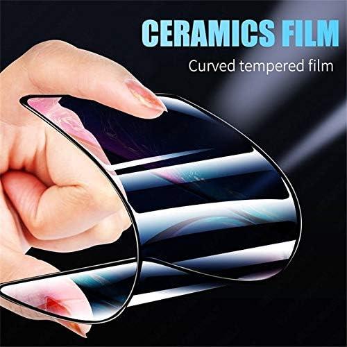 7 Plus LGYD for 25 PCS 2.5D Full Glue Full Cover Ceramics Film for iPhone 8 Plus Black Color : White