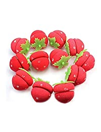 Sponge curlers Hair Roll Ball Strawberry Shaped Beauty Tool 12pcs?