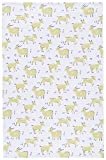 Now Designs Cotton Kitchen Towel, Goats Print