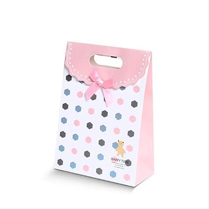 Conjunto de 12 bolsas de papel nueva bolsa de compras arco ...