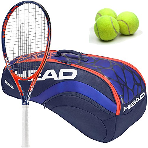 (HEAD Radical PWR Graphene Touch Extended/Oversized 16x19 Tennis Racquet (4 3/8
