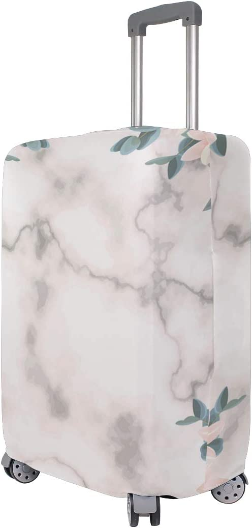 Lace Marble Pattern Traveler Lightweight Rotating Luggage Cover Can Carry With You Can Expand Travel Bag Trolley Rolling Luggage Cover
