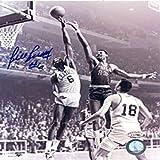 Bill Russell Autographed Signed Blocking Wilt Chamberlain 8x10 Photo