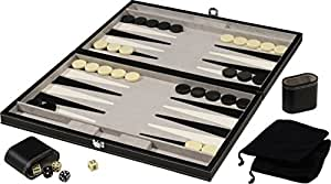 Mainstreet Classics 18-Inch Backgammon Game Set