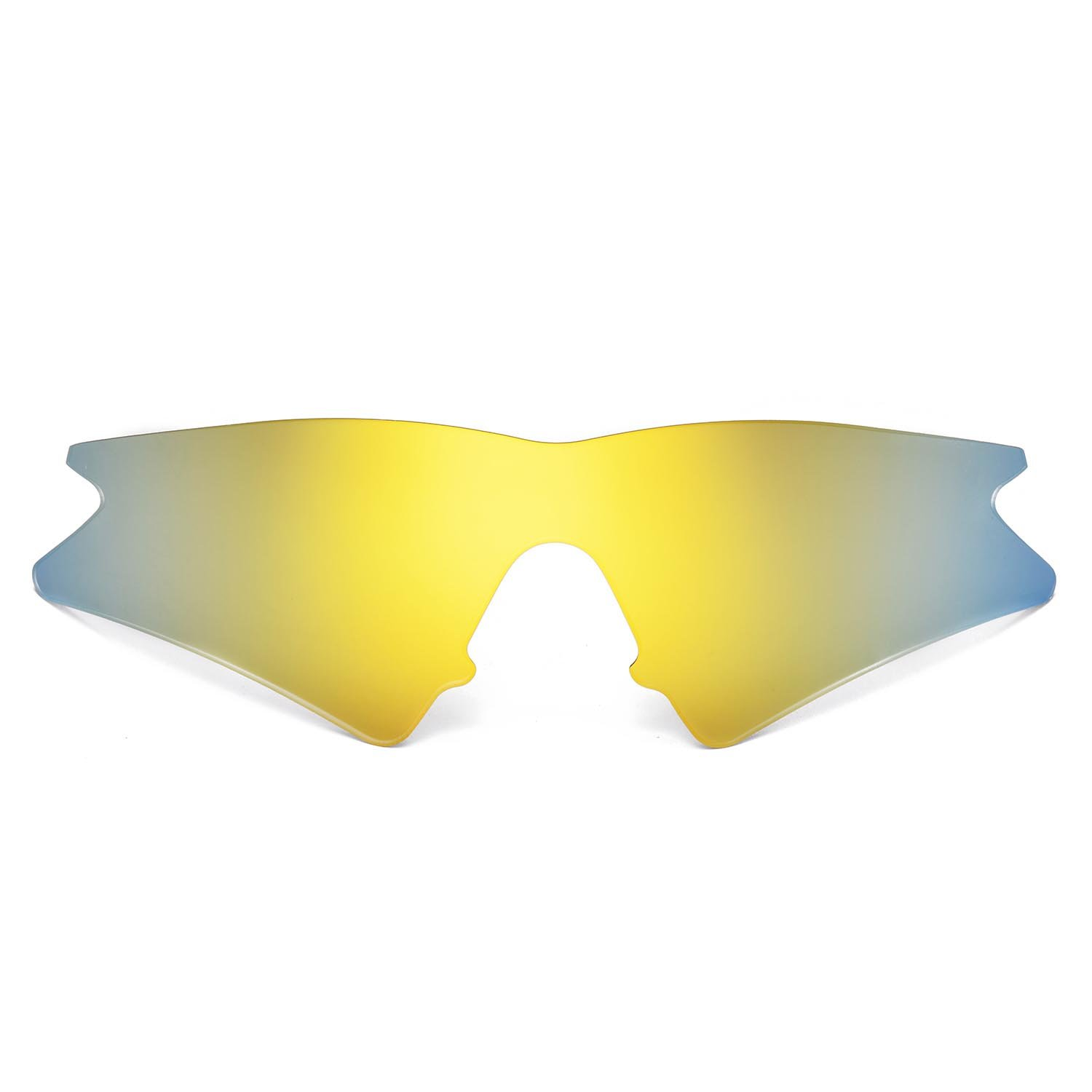 0651e05277a Walleva Replacement Lenses for Oakley M Frame Sweep Sunglasses - Multiple  Options Available (24K Gold Mirror Coated - Polarized) at Amazon Men s  Clothing ...