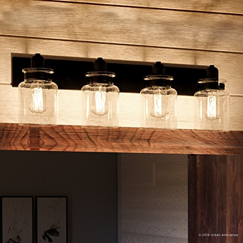(Luxury Modern Farmhouse Bathroom Vanity Light, Large Size: 8.625
