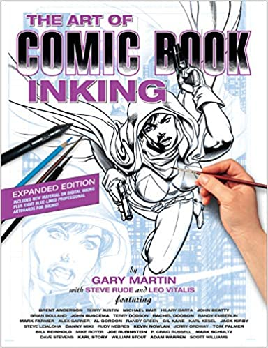 the art of comic book inking third edition disney princess younger readers
