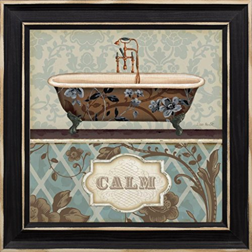 10x10 Bathroom Bliss II by Audit, Lisa: Distressed Classic B