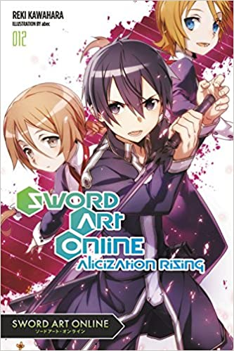 Elegant Amazon.com: Sword Art Online 12 (light Novel): Alicization Rising  (9780316390453): Reki Kawahara: Books Design