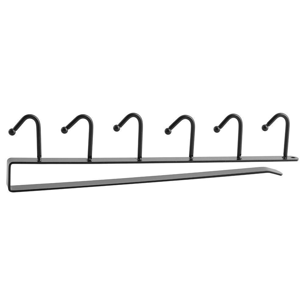 White Cupboard Shelf Hook TOPINCN Door Hook Hanger Storage Organizer Clothes Rack Kitchen Bathroom
