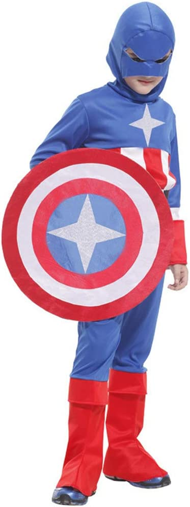ZHAOXUAN Avengers Hero Niños Capitán América Disfraz Halloween ...