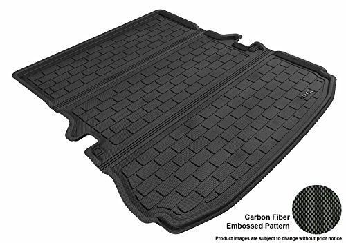 (3D MAXpider Custom Fit All-Weather Cargo Liner for Select Ford Explorer Models - Kagu Rubber (Black))