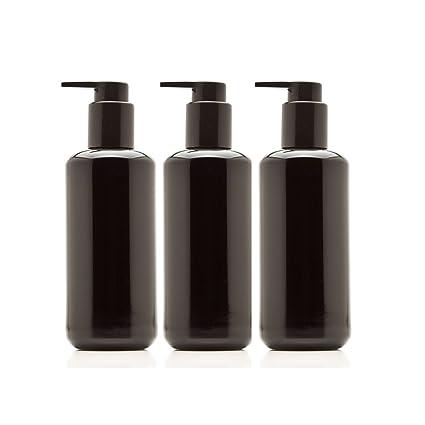 infinity tarros 200 ml (6.8 fl oz) botella de vidrio de ultravioleta negro dispensador