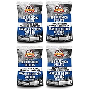 Hickory BBQ Wood Pellets 40lbs Pit Boss Smoker Grilling Hardwood Natural