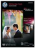 HP Boîte 50 feuilles papier photo Premium Plus A4 300g Blanc brillant