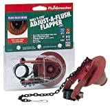 Fluidmaster B502P10 Bulls Eye Flapper Adjust A Flush