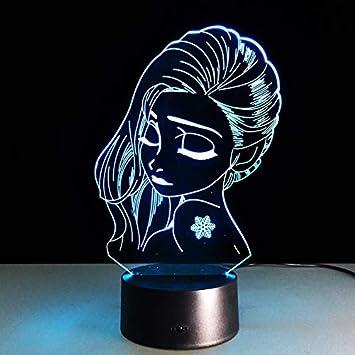 Lámpara de Mesa de luz Nocturna lámpara de niña lámpara de Mesa ...