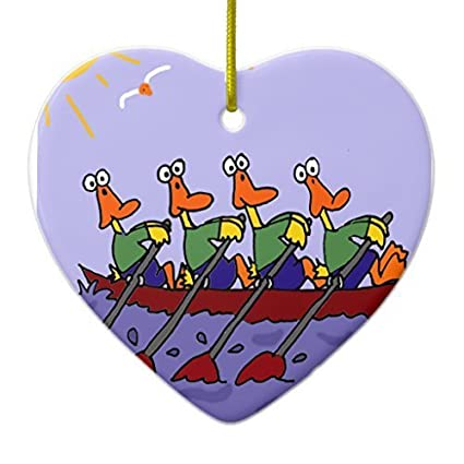 Amazon.com: Enid545Anne Christmas Tree Decorations Funny Ducks in a ...