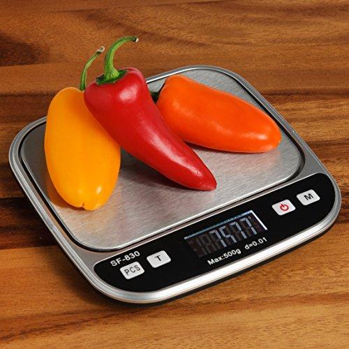 Boldall Portable Digital Kitchen Food Scale