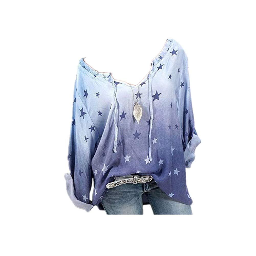 Casual Pullover Langarm T-Shirt Rundhals Ausschnitt Lose Bluse Oberteil Hemd Oversize Tops Sweatjacke Sport Morbuy Damen Sweatshirt