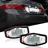license plate frame honda civic - RCP -RLST05-Non-Destructive Installation Canbus OE Style LED License Plate Frame Light for Honda Accord 4D(08-16) / Civic (06-16)