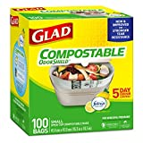Glad® Compostable Garbage Bags, 100-pk