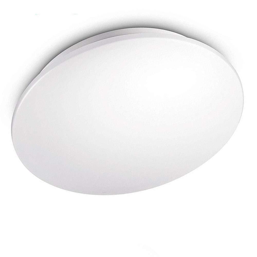 kwode 24 W - Lámpara LED de techo, color blanco frío 6000 K lámpara de techo Iluminación de techo, IP44 redondo cuarto de baño lámpara bombilla baño lámpara ...