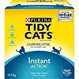 Purina® Tidy Cats® Instant Action™ Clumping Cat Litter for Multiple Cats 12.3kg Box