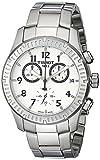Tissot Men's T0394171103700 V8 Analog Display Swiss Quartz Silver Watch
