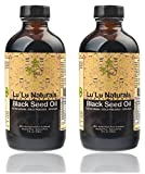 Premium Black Seed Oil 2x8oz Organic, Cold Pressed, Extra Virgin, Pure! Cold Pressed From NON-GMO, 100% Pure Nigella Sativa. Promotes: Healthy Blood Cholesterol, Blood Pressure & Blood Sugar Levels