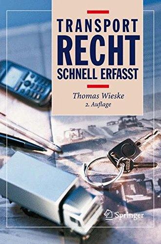 Transportrecht - Schnell Erfasst (German Edition)