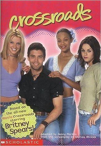 Book Crossroads: Britney Spears: Movie Tie-in Jr Novelization by Jenny Markas (2002-02-01)