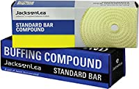 "JacksonLea 47351SP Brown Buffing Compound, Grande Bar, 2"" Width x 2"" Height x 9"" Length"