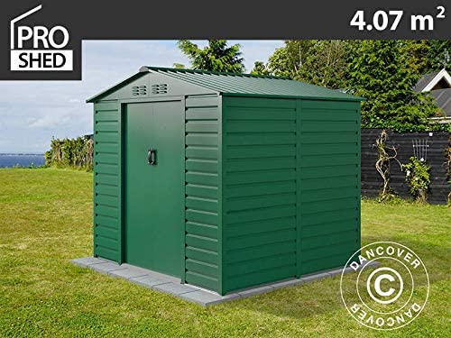 Dancover Caseta de Jardin 2, 13x1, 91x1, 90m ProShed®, Verde: Amazon.es: Jardín