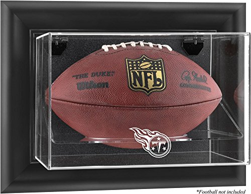 Mounted Memories Tennessee Titans Football Logo Display (Tennessee Titans Team Logo Football)