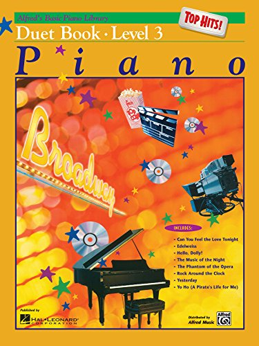 Basic Piano Duet Book - Alfred's Basic Piano Course: Top Hits! Duet Book, Level 3 (Alfred's Basic Piano Library)